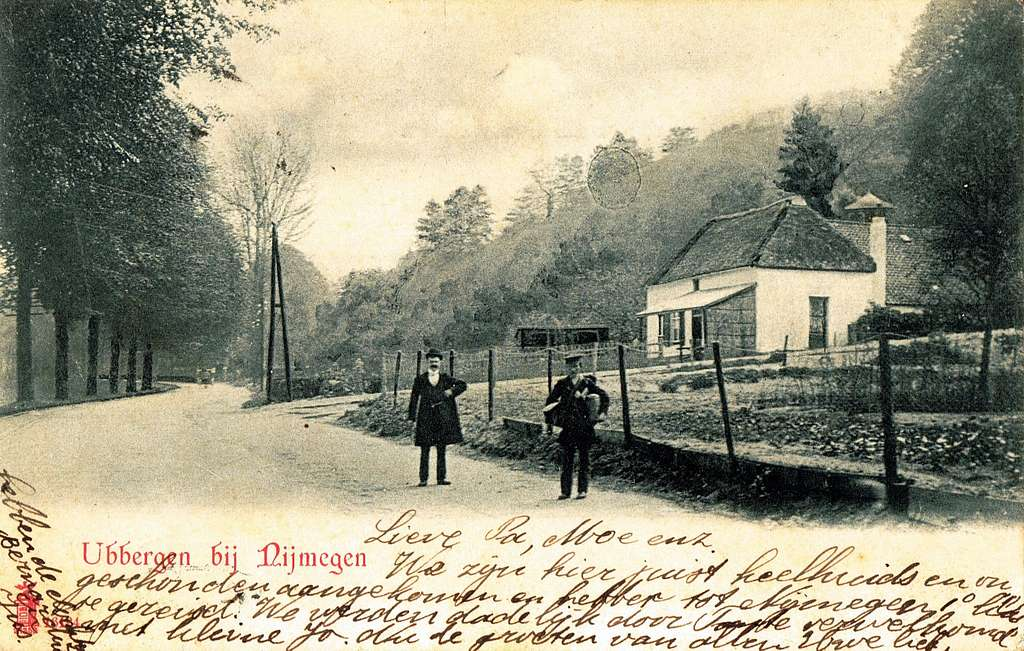 Postcard of Ubbergen published in or before 1905