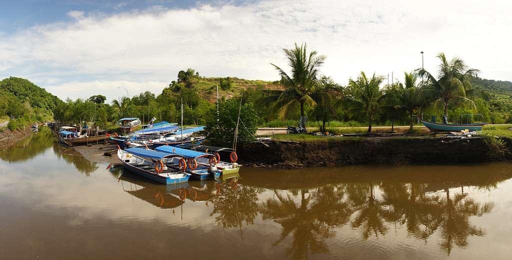 Fishing boats Langkawi.