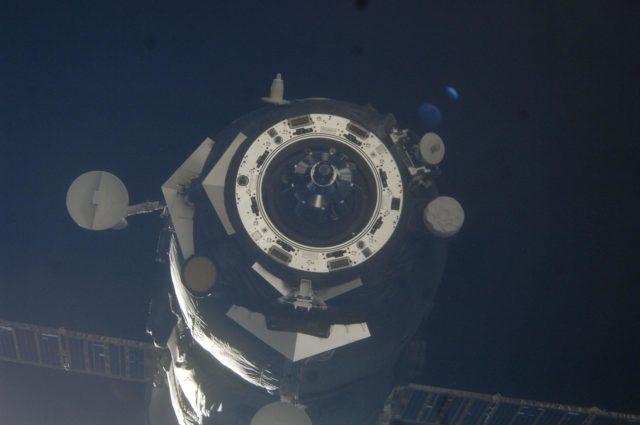 Progress M-15M/47P Spacecraft Temporary Undocking