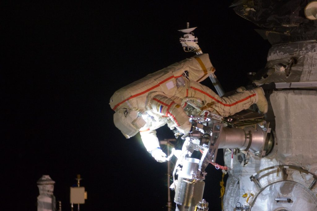 Russian EVA-31 spacewalk