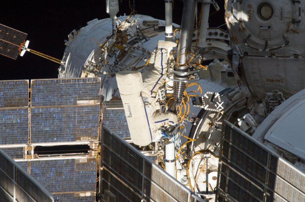 Russian EVA-31 spacewalk