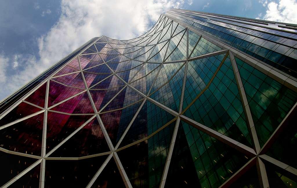 Bow Tower.  Calgary.