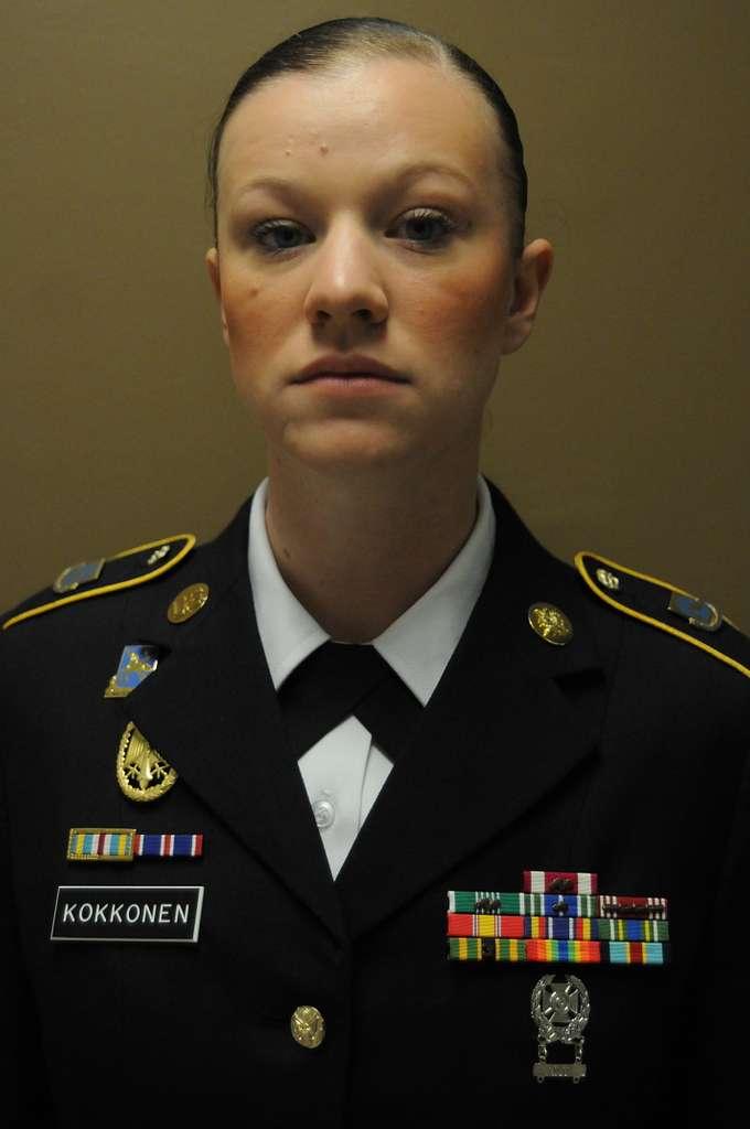 Sgt. 1st Class Amanda Kokkonen, multi-functional team
