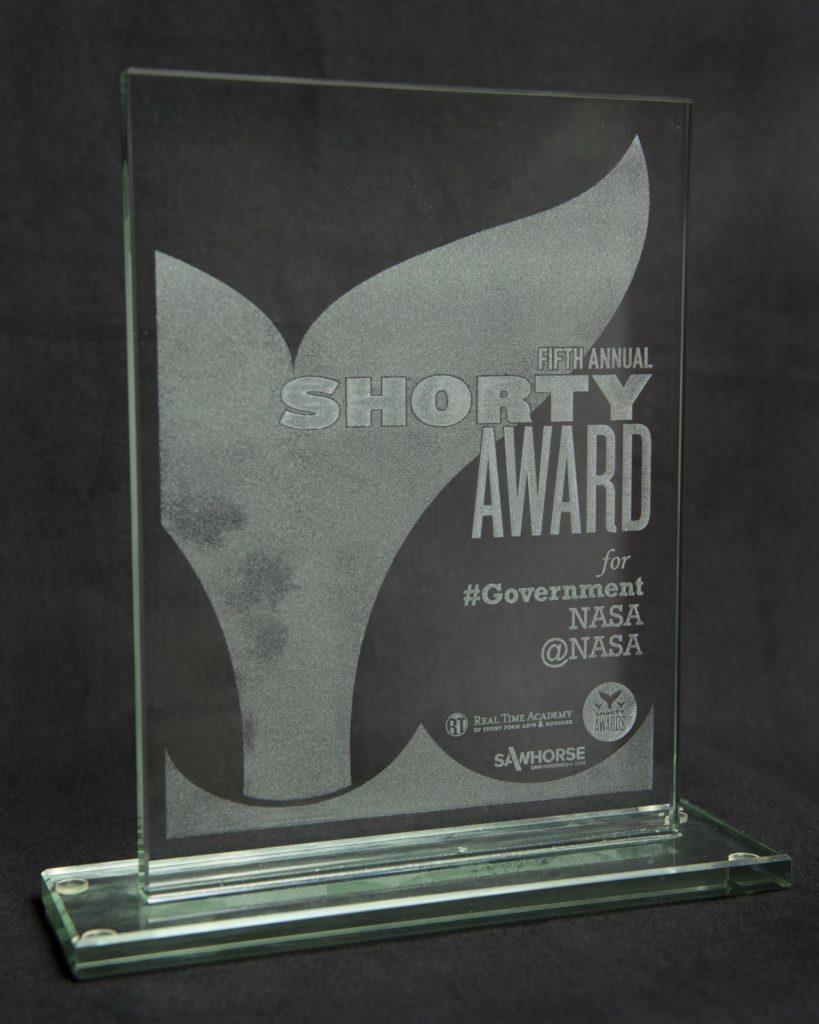 @NASA Wins Shorty Award