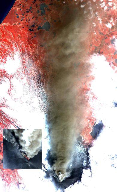 Prolific Alaska Volcano Spews Ash in New Eruption