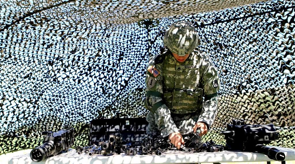 U.S. Army Staff Sgt. David Sullivan, a platoon sergeant