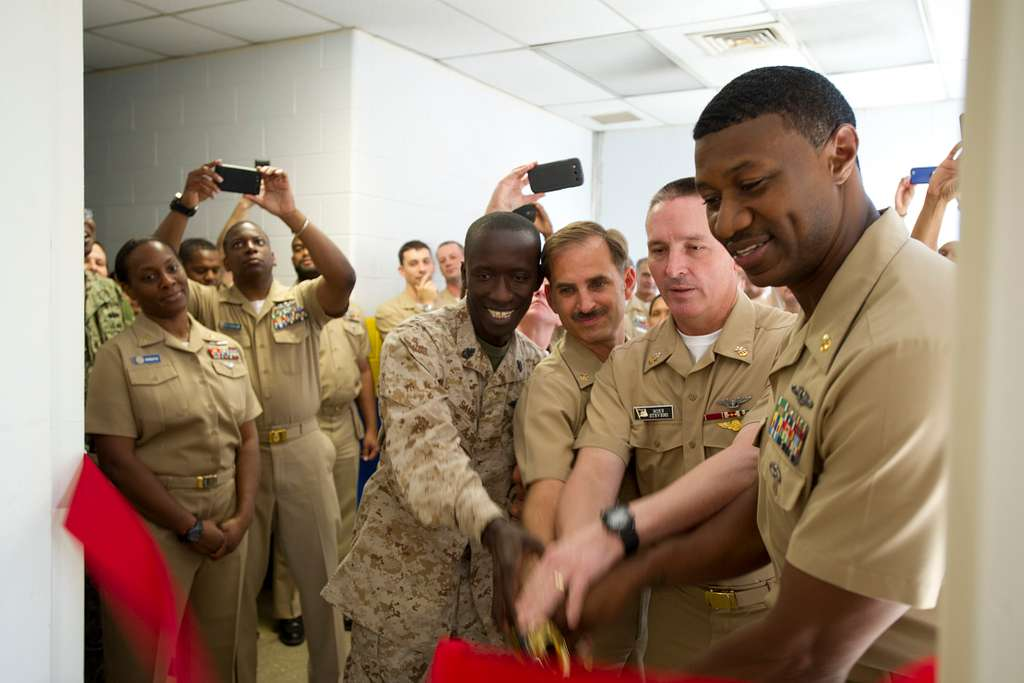 Naval District Washington Chief Petty Officers Mess opening