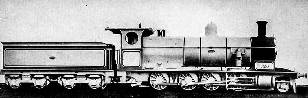 NSWGR Locomotive T.524