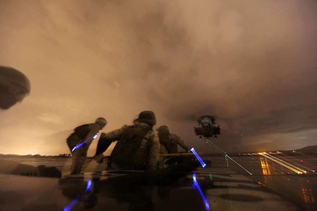 Night Out on the Flight Deck
