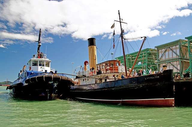 "Tugs.""Purau"" and Tug ""Lyttleton"""