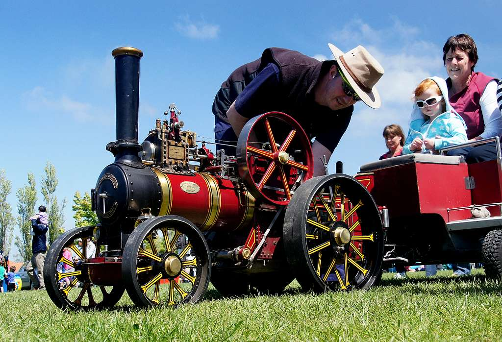"""""""Little Toot"""" Fowler Engine."""