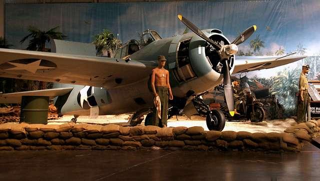 Grumman F4F-3 Wildcat (Fighter). Pearl Harbour.