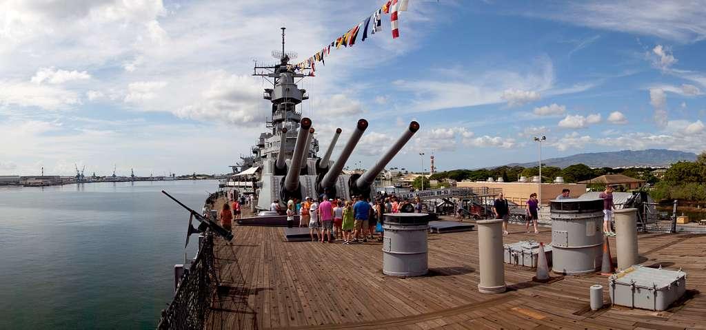 USS Missouri. Pearl Habour.