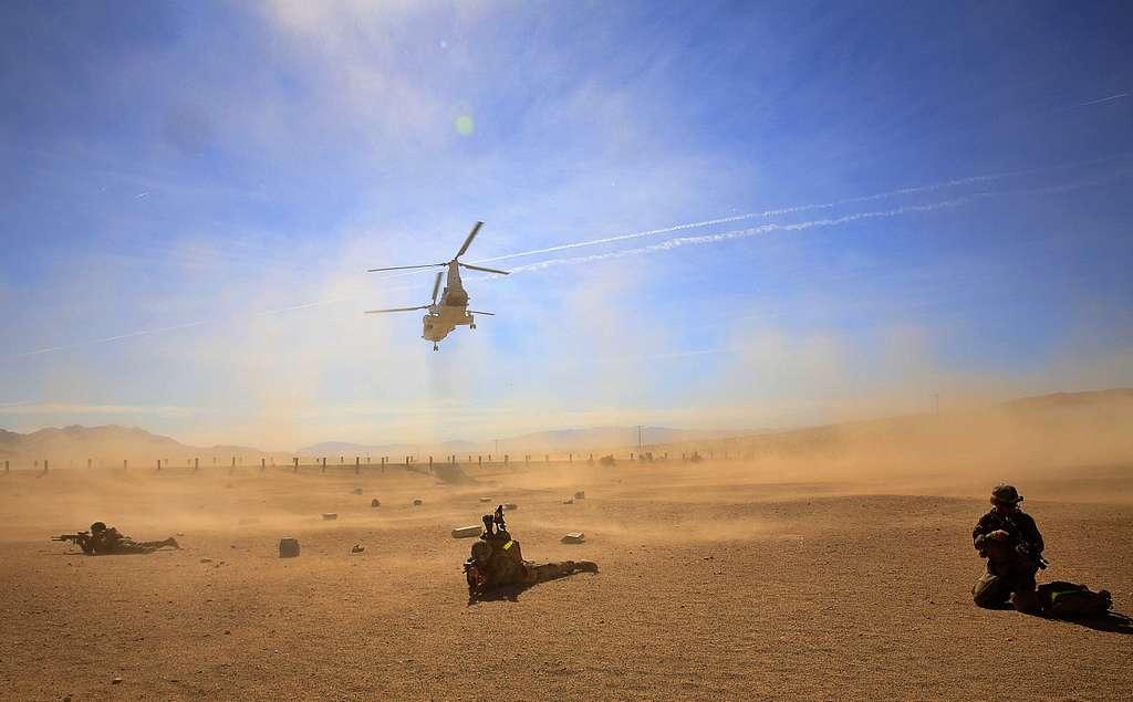 Desert Drop-off