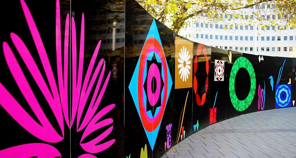 Magical Murals. Christchurch City.