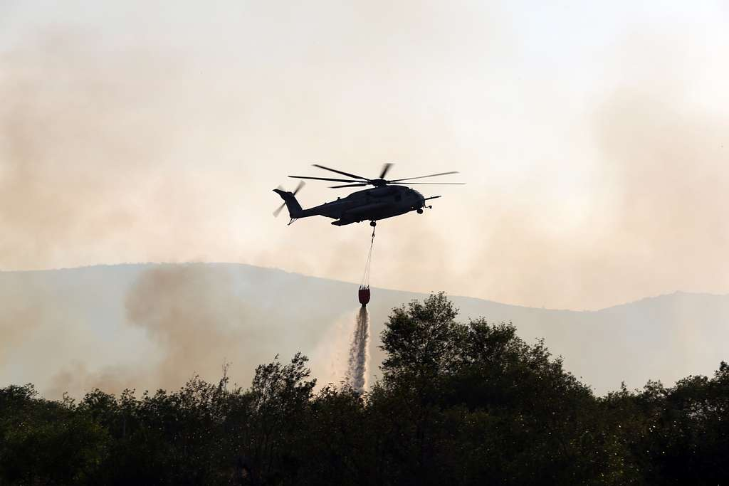 The Las Pulgas fire first reported at 3:15 p.m Thursday