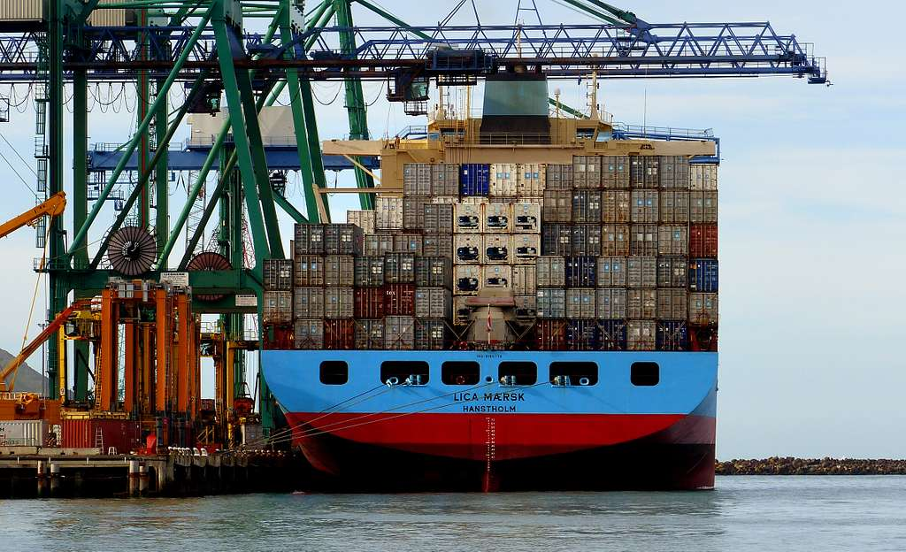 LICA MAERSK - Container Ship