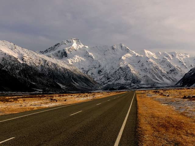 Mt Sefton. New Zealand.