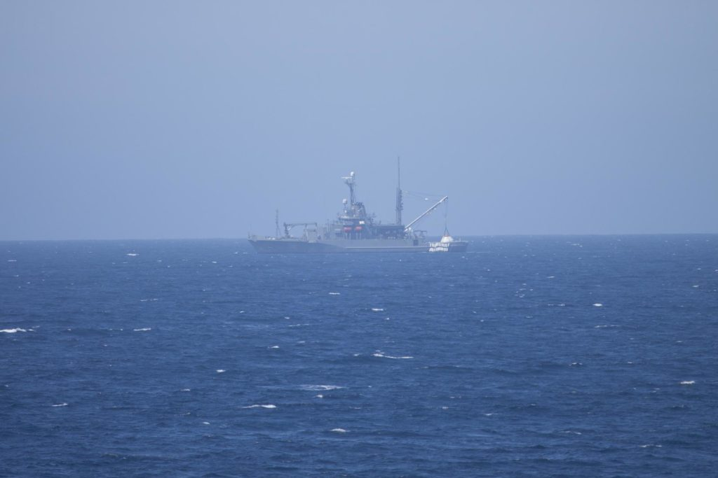 URT-3 At Sea Recovery Operation with Bolden
