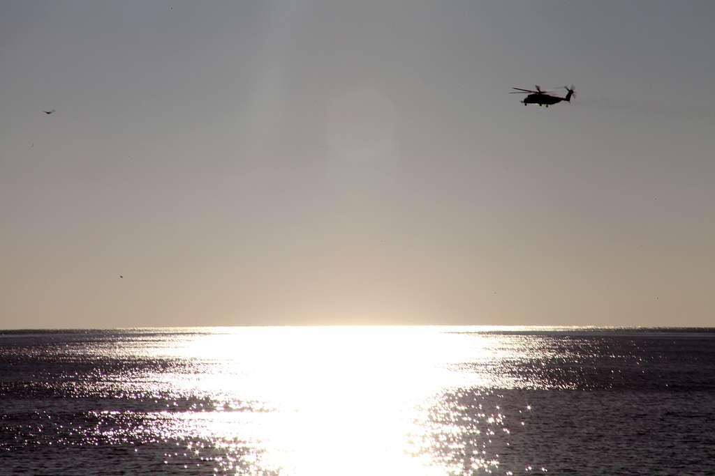 A CH-53E Super Stallion from Marine Medium Tiltrotor