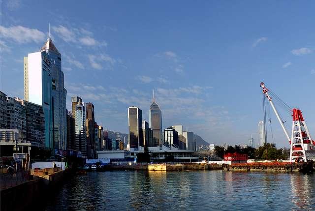 Hong Kong waterfront..