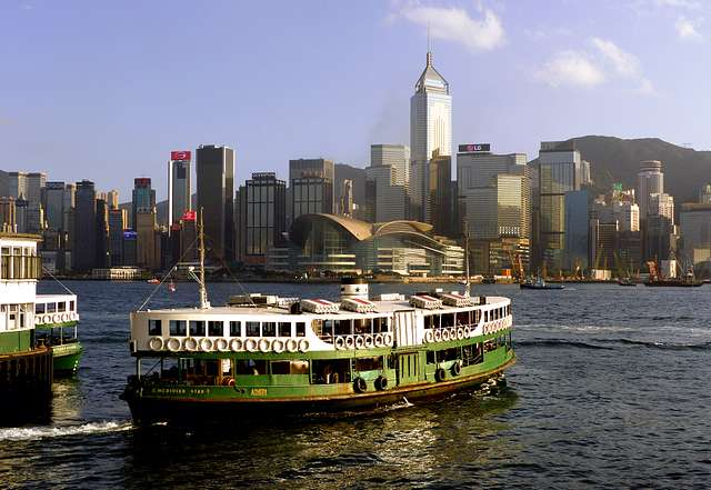 Hong Kongs Victoria Habour.