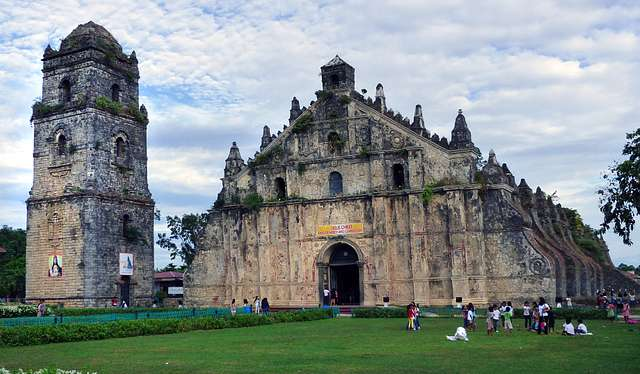 The Paoay Church (also known as the St. Augustine Church )