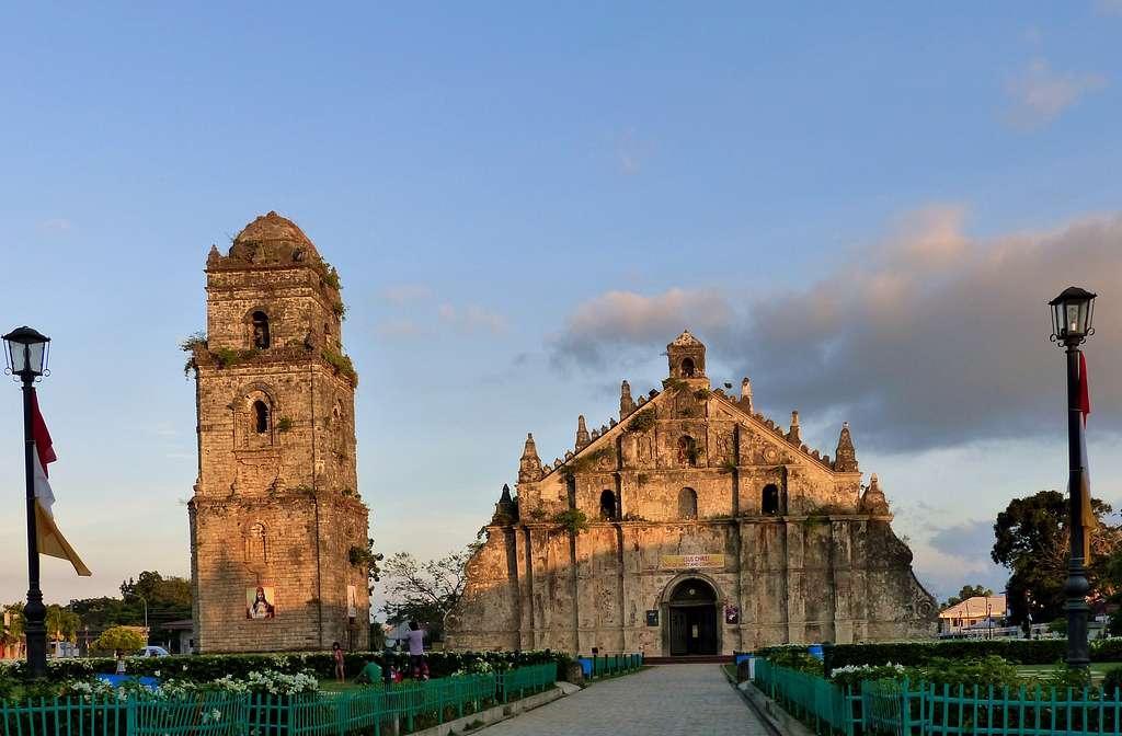 Paoay Church in Ilocos Norte.