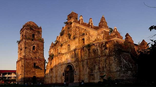 Paoay Church. UNESCO site.