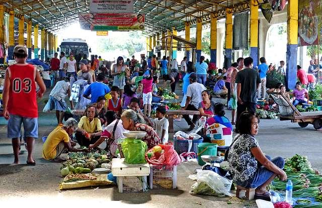 Prouduce market.Batac