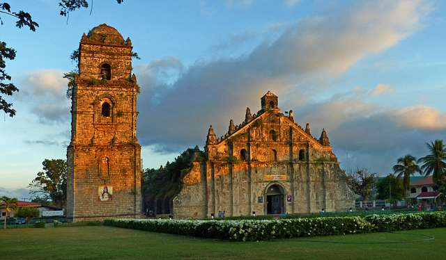 THE PAOAY CHURCH: Ilocos Norte, Philippines
