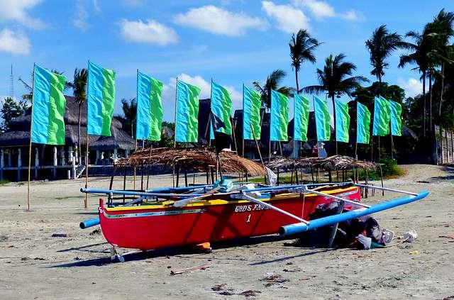 Currimao Beach. Ilocos Norte.