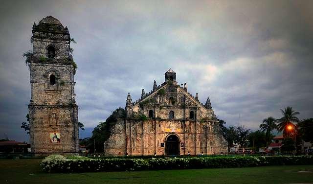 Saint Augustine Church . Paoay.