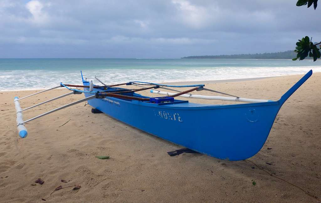 Fishing boat. (Banca) Philippines