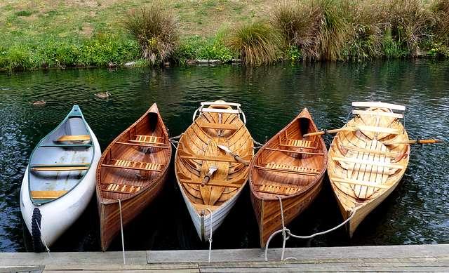 Antigua Boatsheds Canoe Hire. Christchurch.