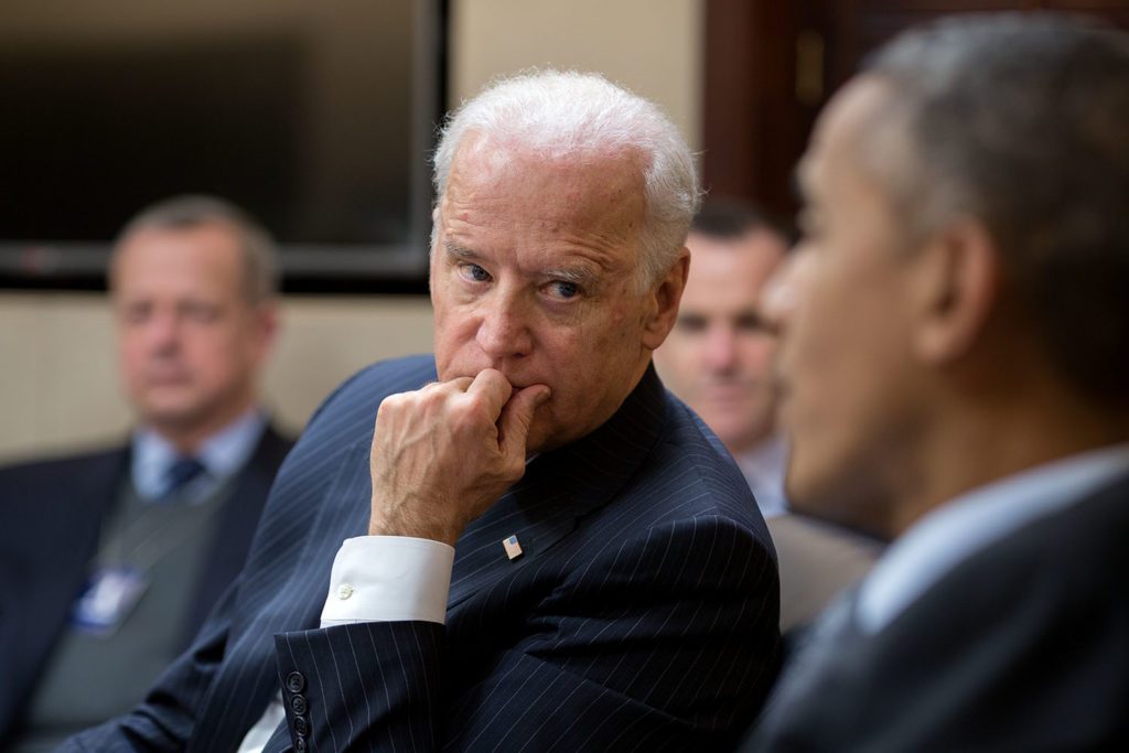 Vice President Joe Biden with President Barack Obama