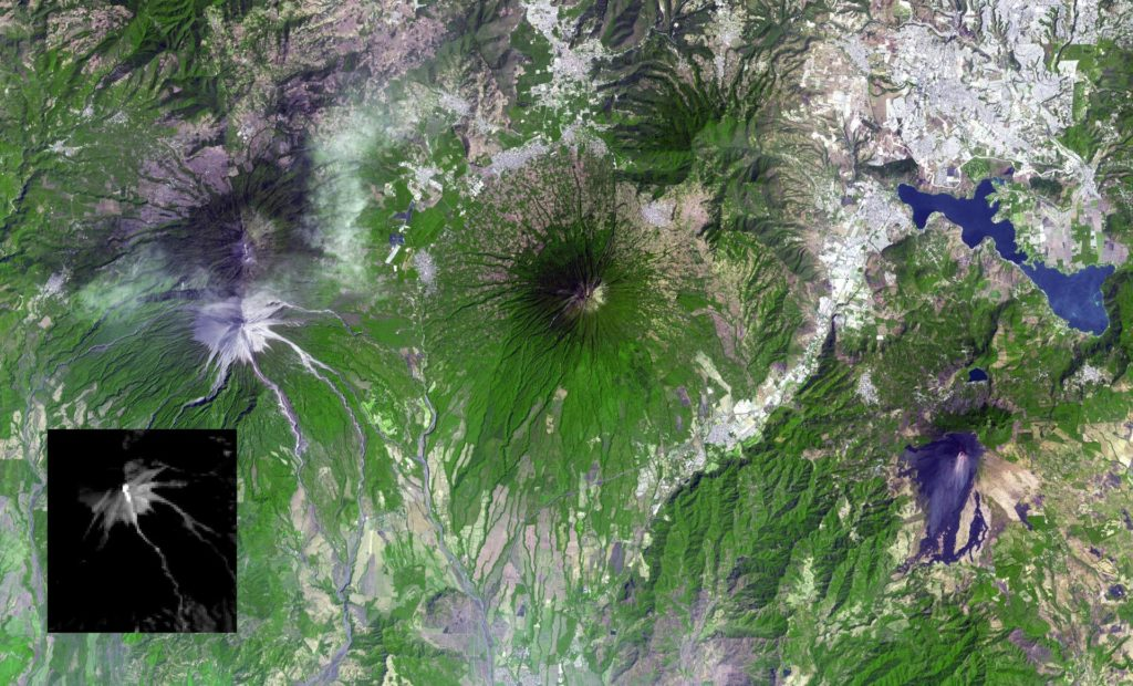 Guatemala Volcanic Eruption Captured in NASA Spacecraft Image