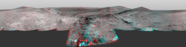 Opportunity Approach to Marathon Valley Stereo
