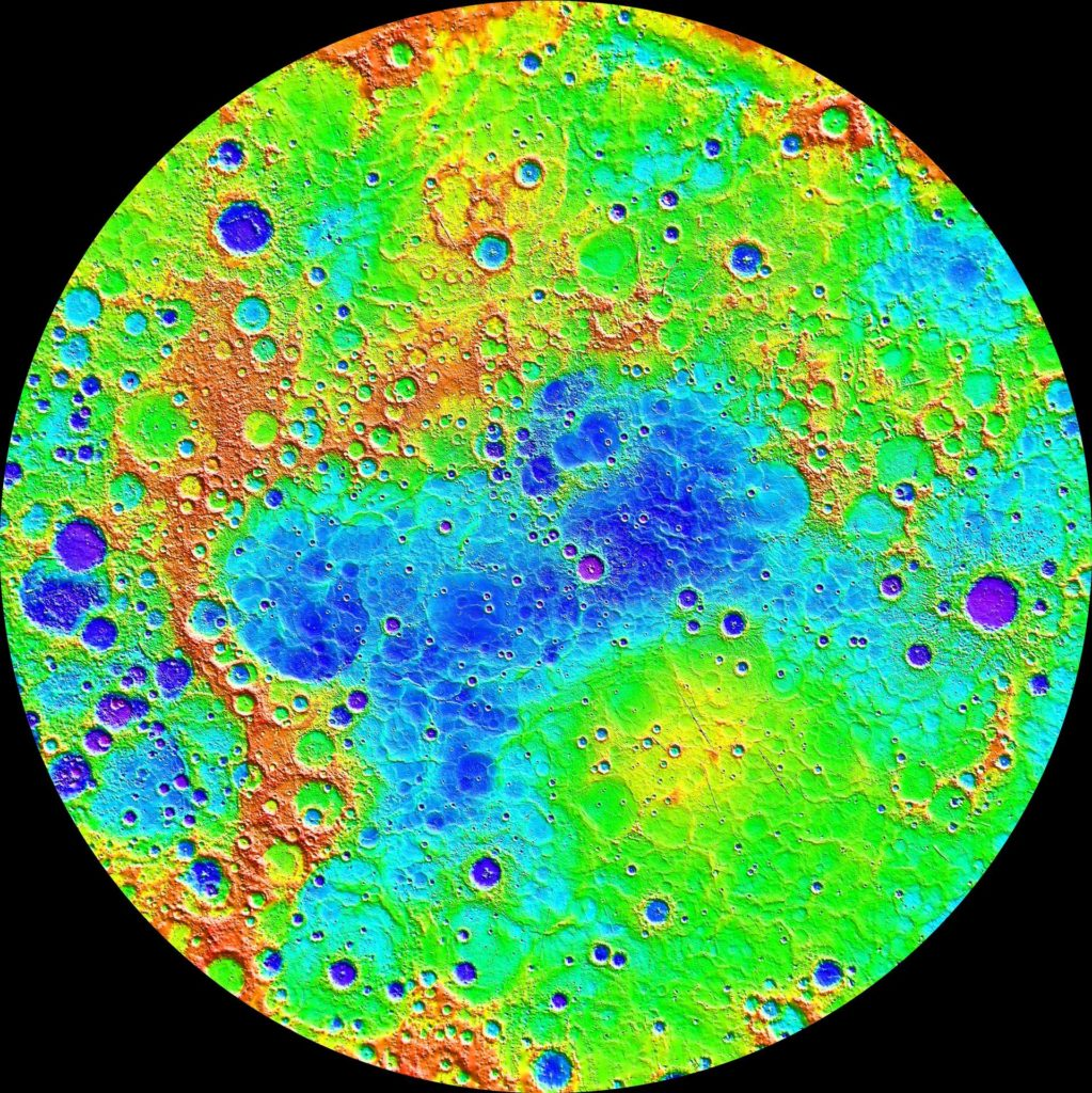 The Ups and Downs of Mercury Topography