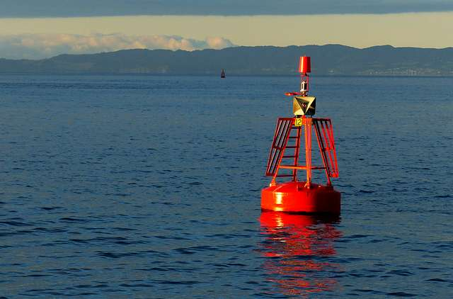 The red channel marker.