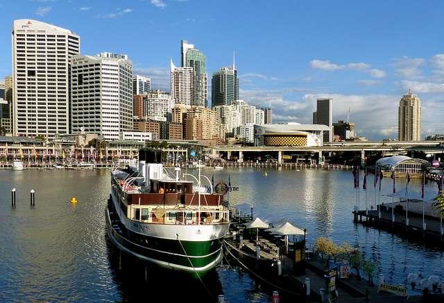 SS South Steyne. Floating restaurant. Sydney.