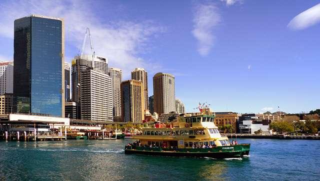 Circular Quay Sydney.