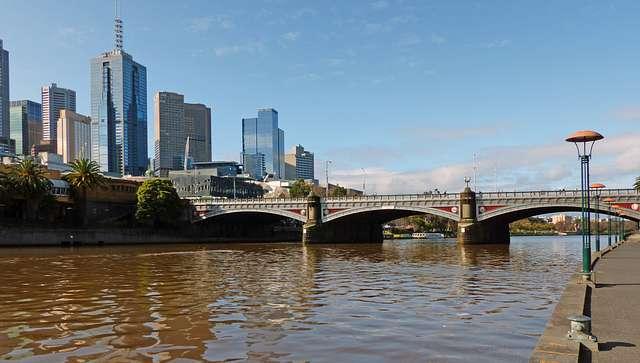 Princes Bridge,Melbourne.