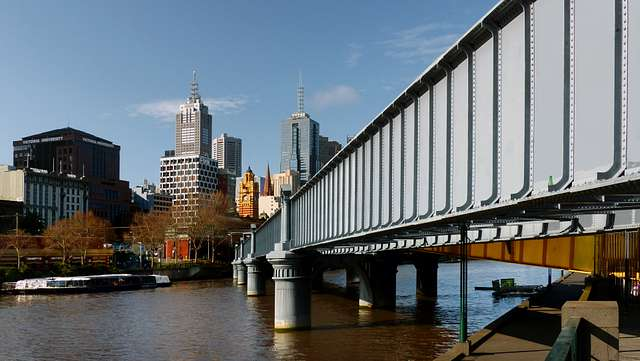 Sandridge Bridge. Melbourne.