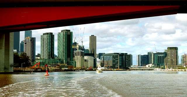 Under The Bolte Bridge Melbourne.