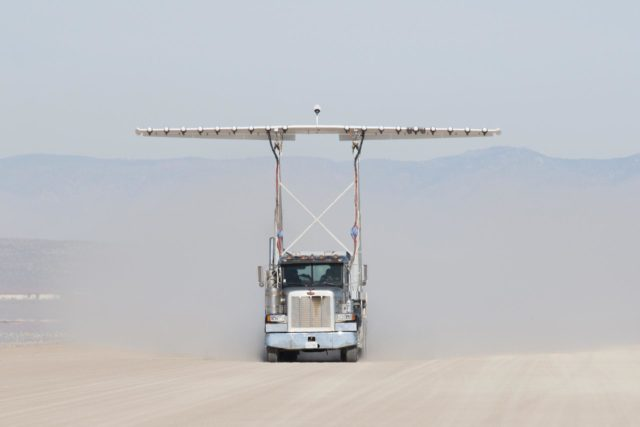 Piloted, Electric Propulsion-Powered Experimental Aircraft Underway