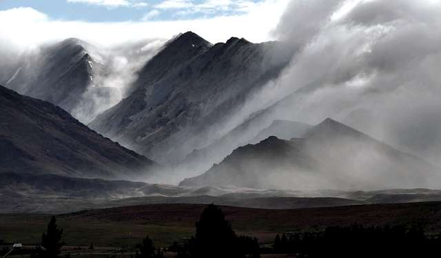 Mist in the morning. NZ