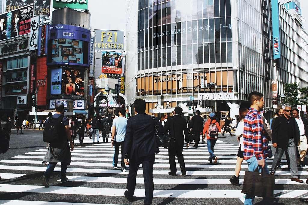 Tokyo scene. Ginza.