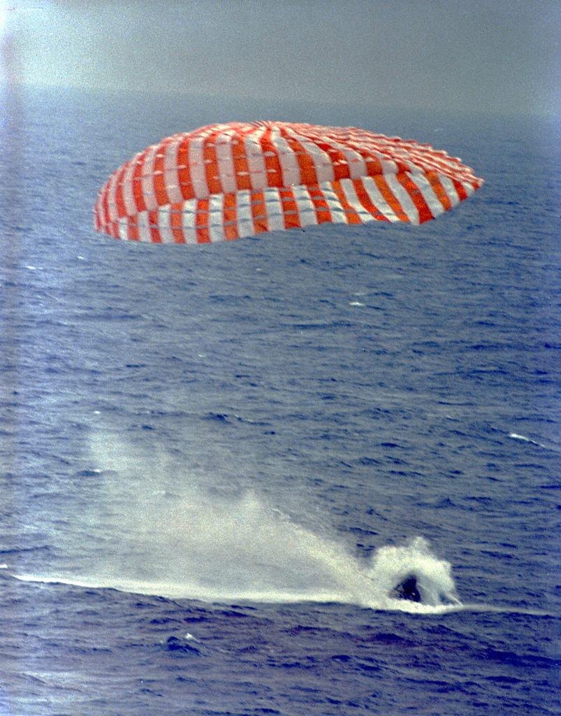 Gemini 9A Splashdown