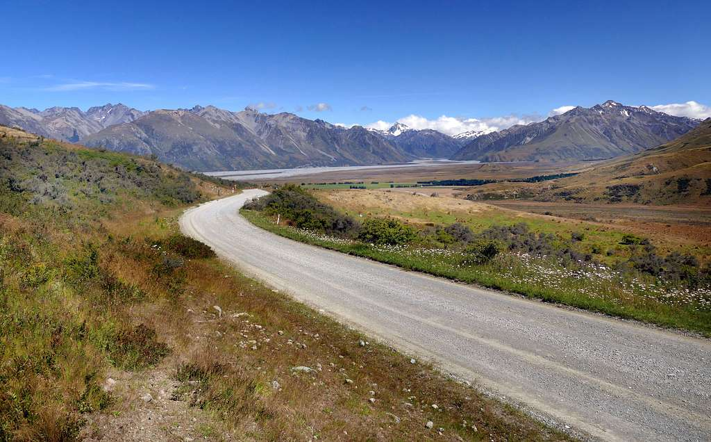Back country road.NZ